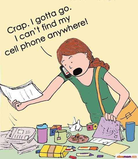 This is so me! For example, I'll be looking for my reading glasses while wearing them. LOL!