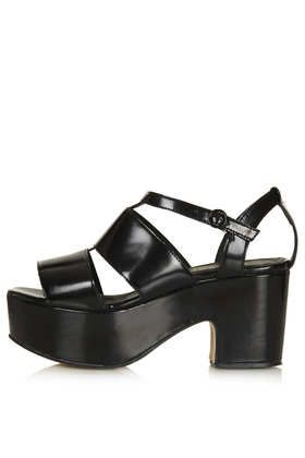 NIRAMA Cut Out Mid Sandals - New In This Week  - New In