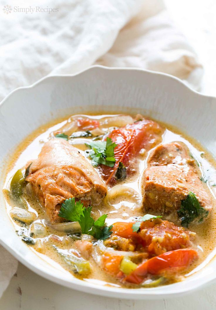 Brazilian salmon fish stew! Salmon cooked with tomatoes ...