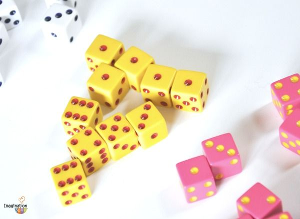 dice games for families