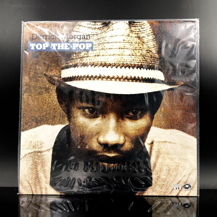 RARE: Derrick Morgan - Top The Pop - Limited Edition Reggae Vinyl Record - Ska, Rocksteady Reggae Music - LP by VinylLoversUnite on Etsy