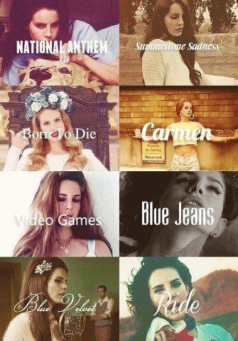 Músicas de Lana Del Rey
