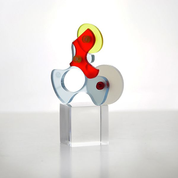 """""""Cyborg Tilt"""" Ring (back), by E Georgakopoulos, 2013."""