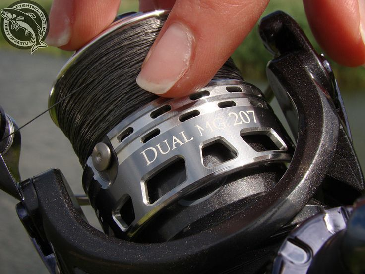 Kołowrotek Robinson Dual MG 207 #wędkarstwo #kołowrotki #reel