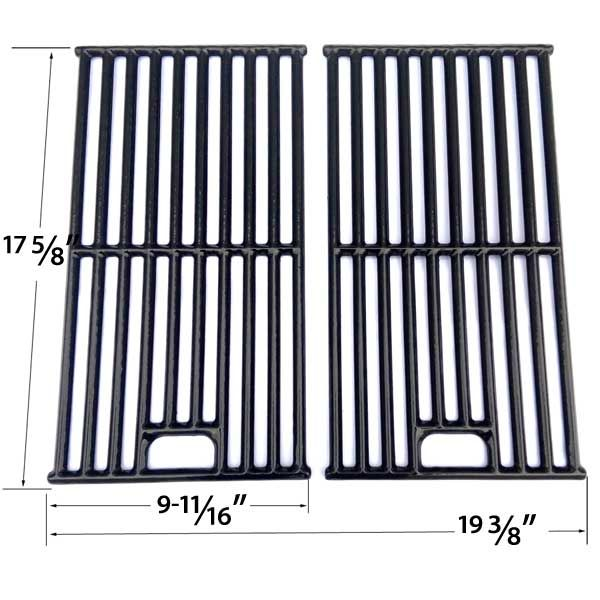 2 PACK PORCELAIN CAST IRON COOKING GRATES FOR DYNA-GLO DGB730SNB-D, DGB730SNB, M365GMDG14-D, M365GMDG14, 314076 GAS GRILL MODELS Fits Compatible Dyna-glo Models : DGB730SNB-D, DGB730SNB, M365GMDG14-D, M365GMDG14 Read More @http://www.grillpartszone.com/shopexd.asp?id=36049&sid=36051