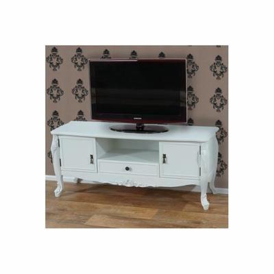 17 meilleures id es propos de meubles blancs antiques for Meuble tv baroque