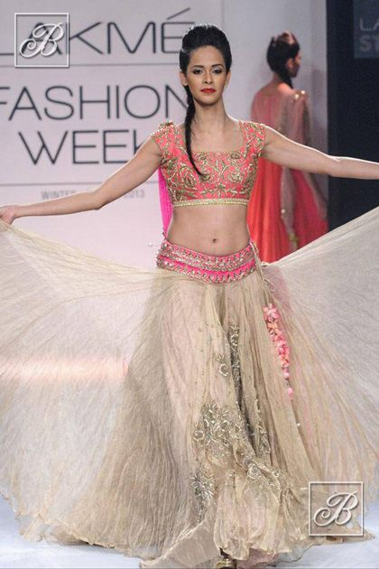 Beautiful Lehenga by Anushree Reddy http://www.kalkifashion.com/designers/anushree-reddy.html