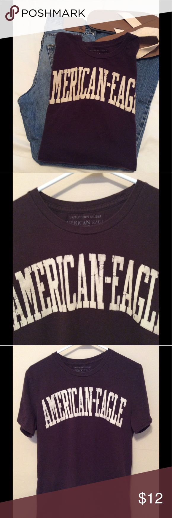 Men's American Eagle Shirt Sz M Nice tee from American Eagle. Fits small. Shows slight wear. American Eagle Outfitters Shirts Tees - Short Sleeve