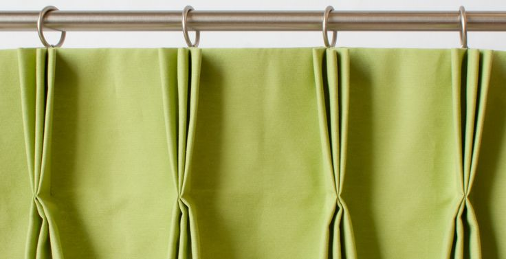 French Pleat Curtain Pinch pleat is a decorative