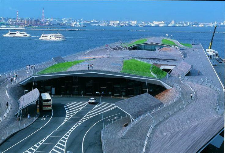 Yokohama Port Terminal Architecture
