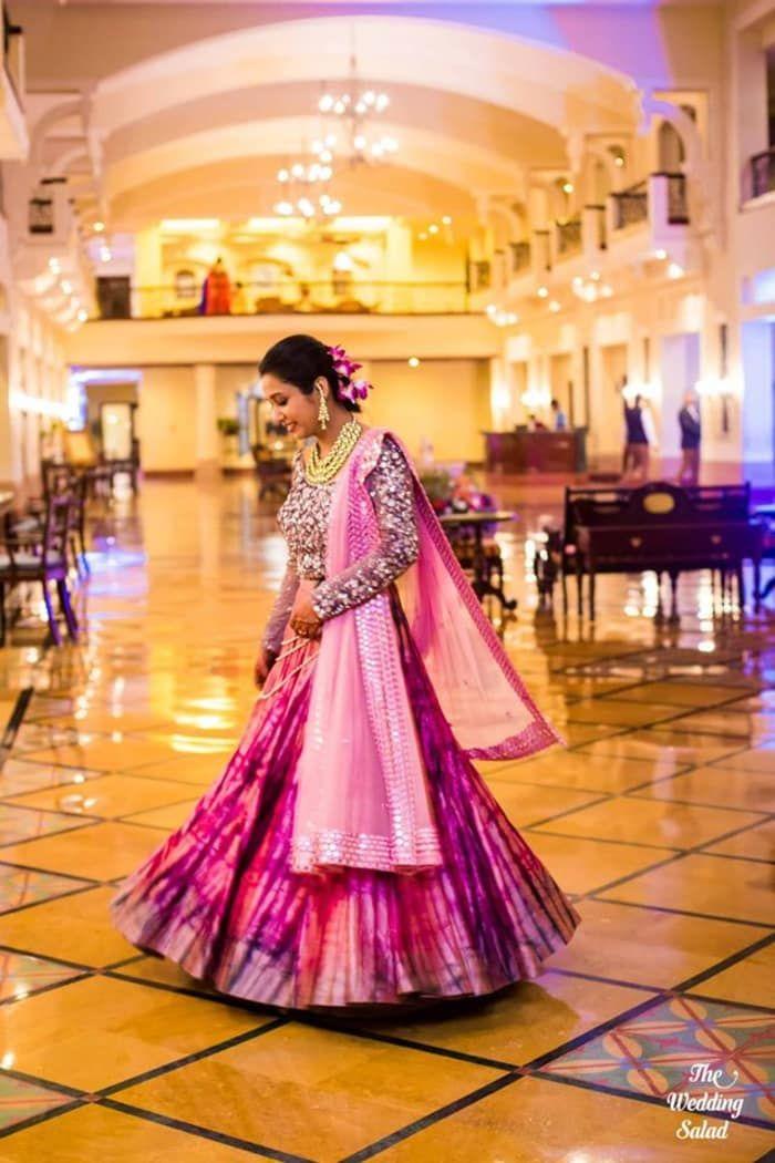 Bridal Wear - The Pretty Bride! Photos, Hindu Culture, Beige Color, Destination Wedding, Bridal Makeup, Sangeet Makeup pictures, images, vendor credits - Priyal Prakash House of Design, The Wedding Salad, Manish Malhotra, Anita Dongre, WeddingPlz