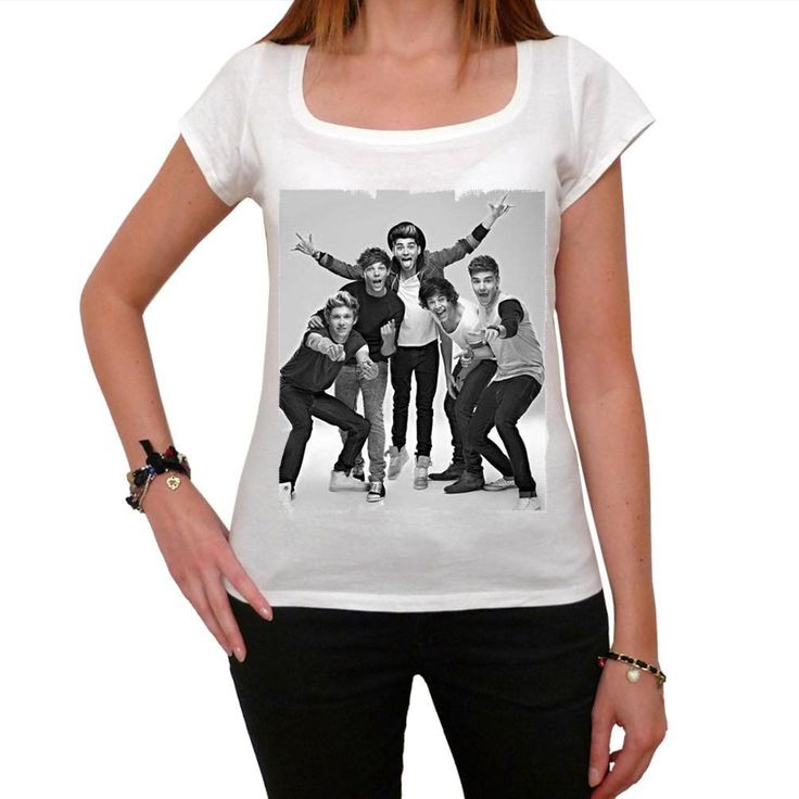 One Direction Group: Women's T-shirt picture celebrity