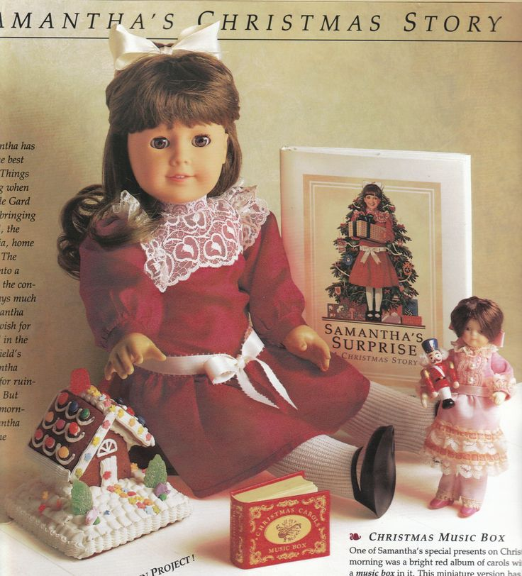 Retired American Girl Samantha - no longer available for purchase Christmas