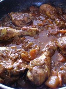 Kurczak wschodnioafrykanski z czekolada