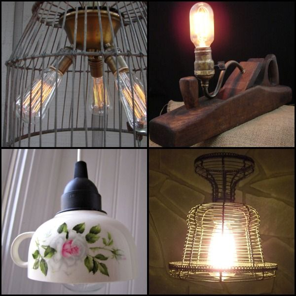 72 Best Upcycled Lighting Ideas & Projects Images On