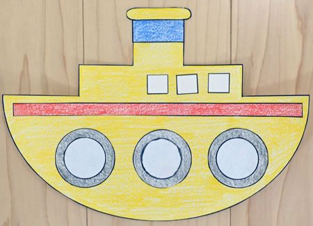 Tugboat Paper Crafting