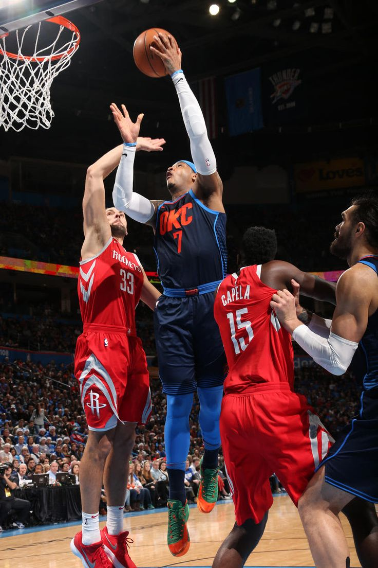 #WeAreThunder: Houston Rockets v Oklahoma City Thunder