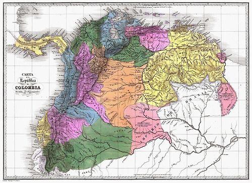 Gran Colombia, 1820s
