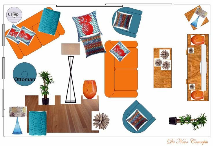Beach Holiday Home - Room layout   www.denovoconcepts.com