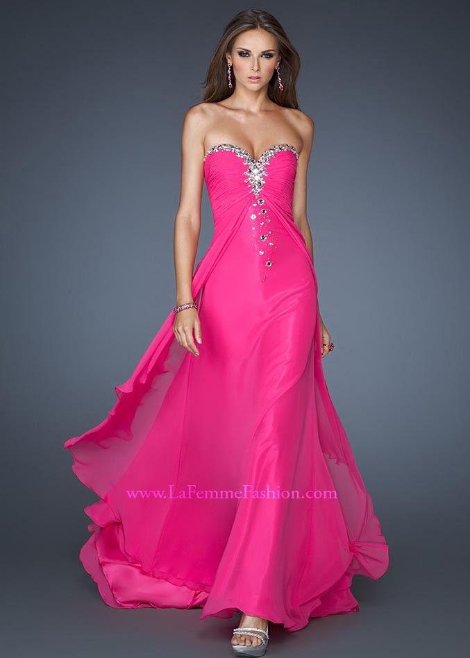 Neon Pink Long Dresses – fashion dresses