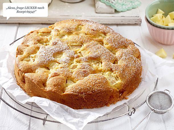 Einfacher Apfelkuchen – Snacks & Fingerfood