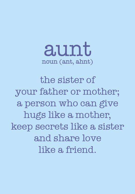 quotes for a niece and aunt relationship with