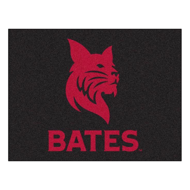 Bates Bobcats Black Tufted Area Rug