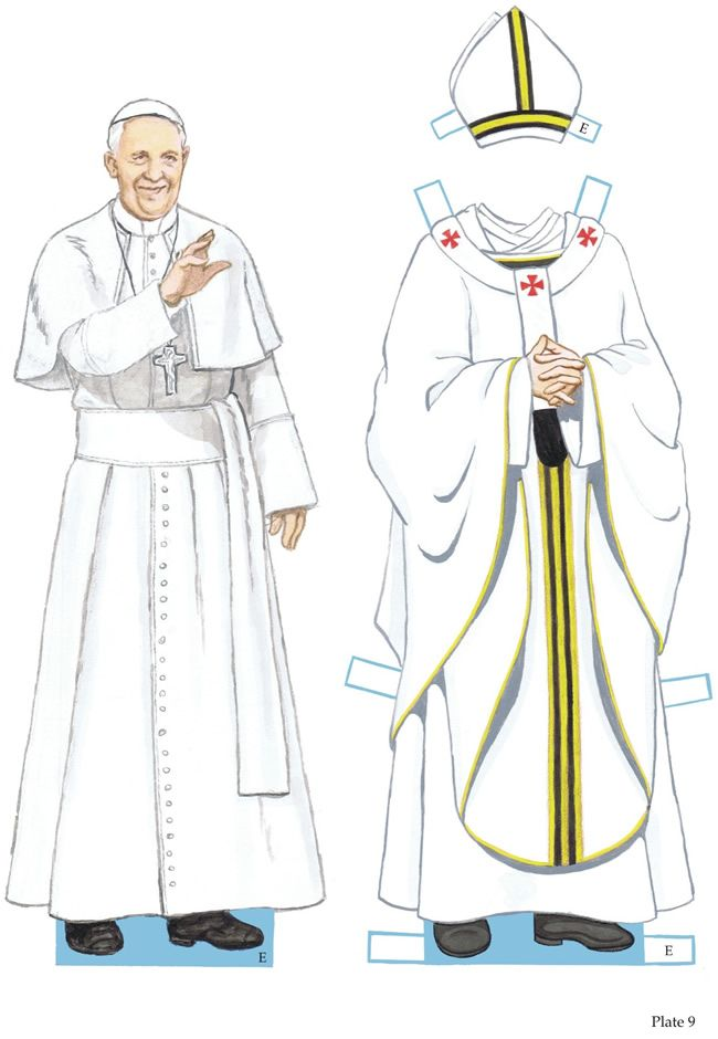 Pope Francis Paper Dolls 3 Of 4 Welcome To Dover