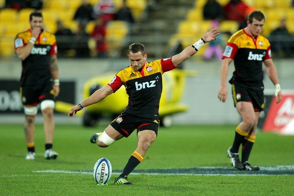 Aaron Cruden Photo - Super Rugby Rd 18 - Hurricanes v Chiefs