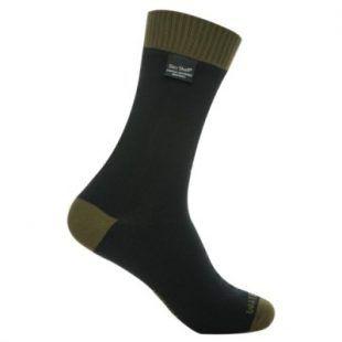 DexShell THERMLITE zokni - Fekete / Olivazöld