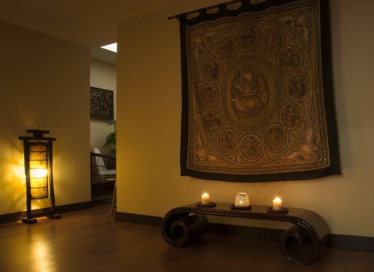 Float in Picoas - decoração Oriental Spa para que se sinta totalmente em harmonia, e relaxe. www.float-in.pt