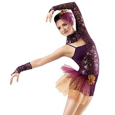 lantejoulas e tule ballet / jazz roupa das mulheres de desempenho jazz – EUR € 68.76