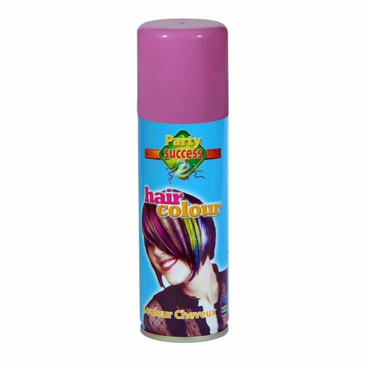 Wash Out Pastel Pink Temporary Hair Coloured Party Sprays
