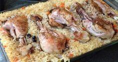 «Ленивый рис» с курицей
