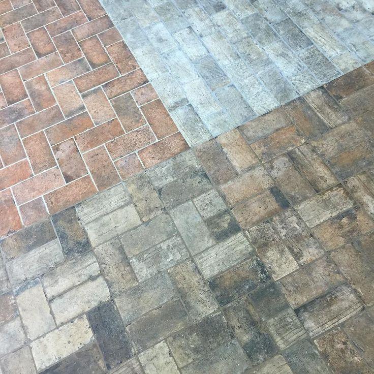 Brick Flooring Kitchen: Best 25+ Brick Tile Floor Ideas On Pinterest