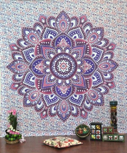 Indian-Tapestry-Mandala-Throw-Wall-Hanging-Ethnic