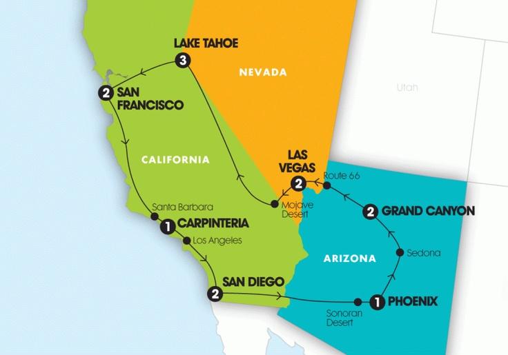 Wild Western Contiki tour