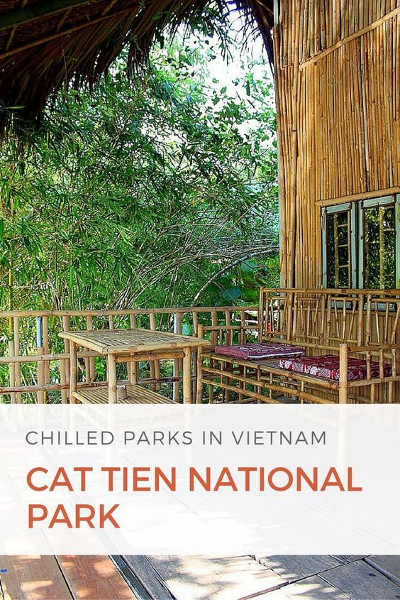 Exploring Cat Tien National Park in Vietnam.
