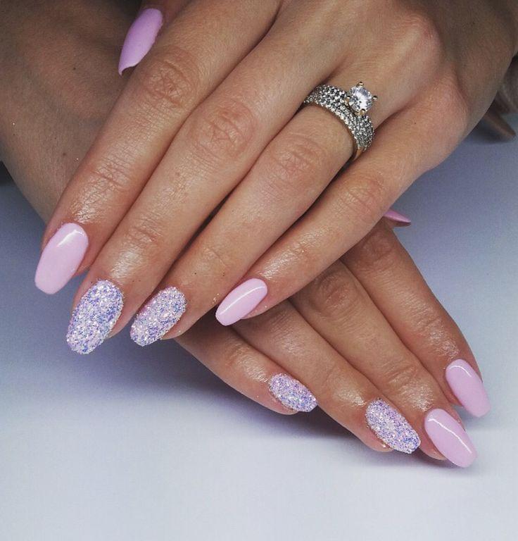 #beautiful #wedding 💒 #nails #pinksmile #semilac #pixel #effect #indigo