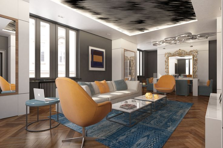Project for Apartment in Mantua (Italy)