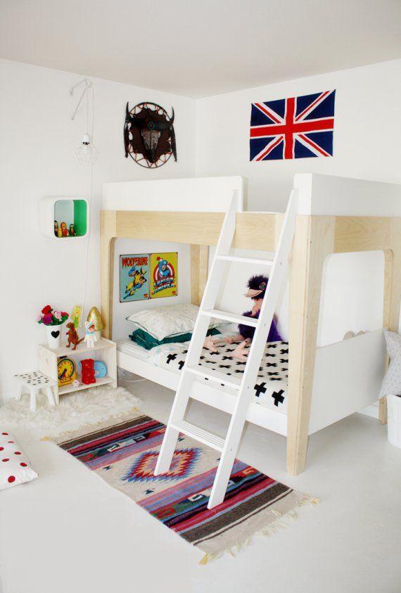 modern shared bedroom before & after