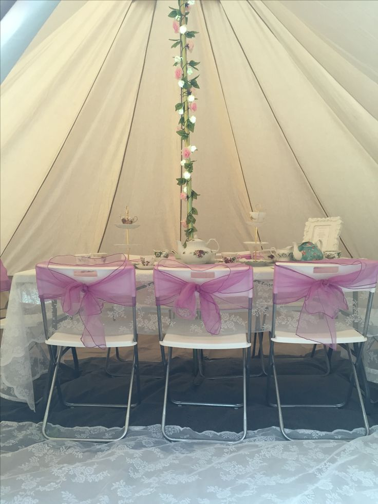Our Beautiful Bell Tent Styled for a