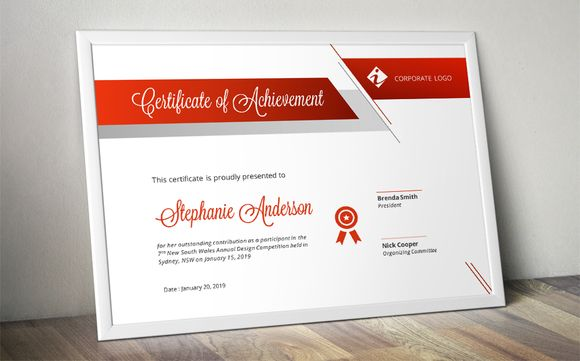 Script bar docx certificate template @creativework247