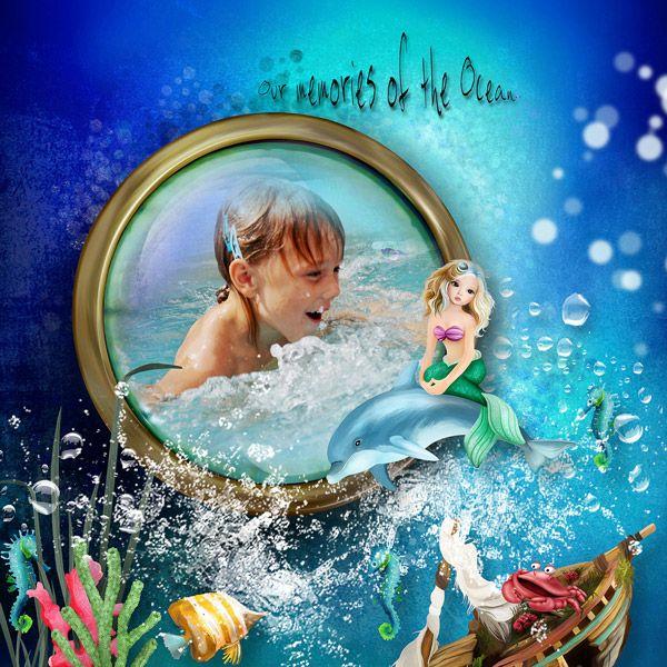 The world of mermaid