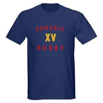 Ruggershirts Romanian Rugby Dark T-Shirt