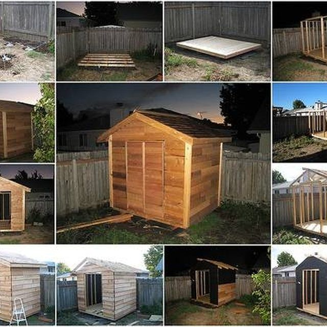 Garden Sheds 6x7: 1000+ Ideas About Build Your Own Shed On Pinterest