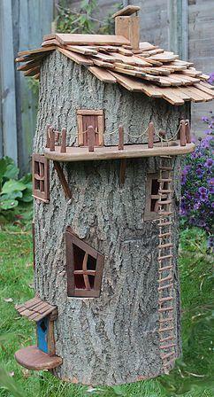 Handmade Fairy Houses auf Bestellung gefertigt