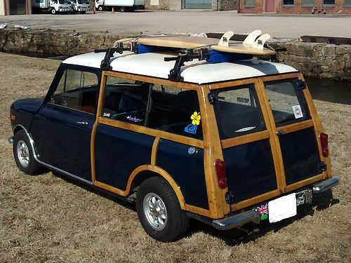 1961 austin mini countryman 1000 woody woodies pinterest for the happy and vehicles. Black Bedroom Furniture Sets. Home Design Ideas