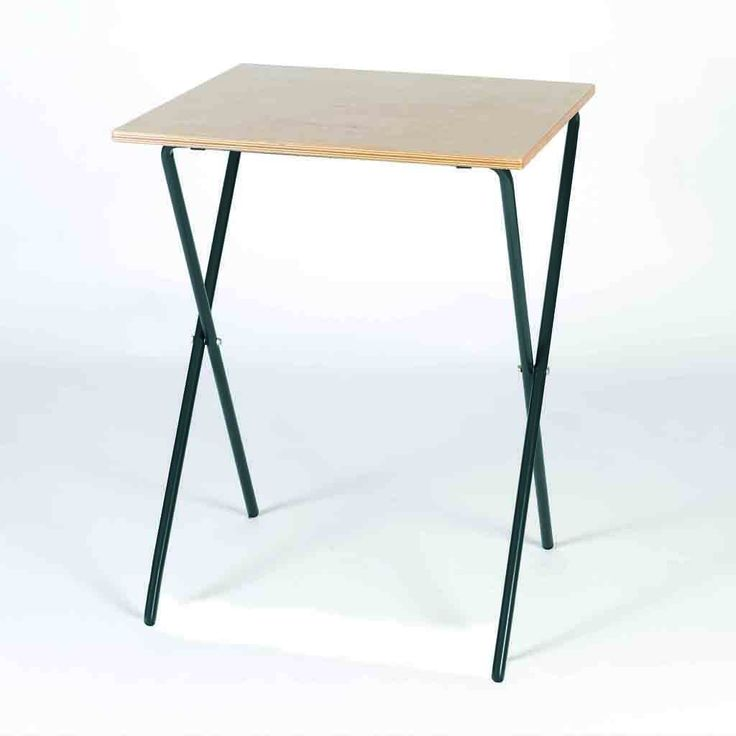 Four Leg Folding Exam Desk Table Desk Desk Table