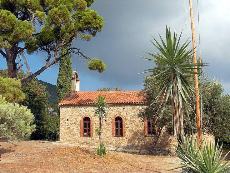 We ❤ Greece | Country shurch at Skiathos island #Greece #travel #destination #explore